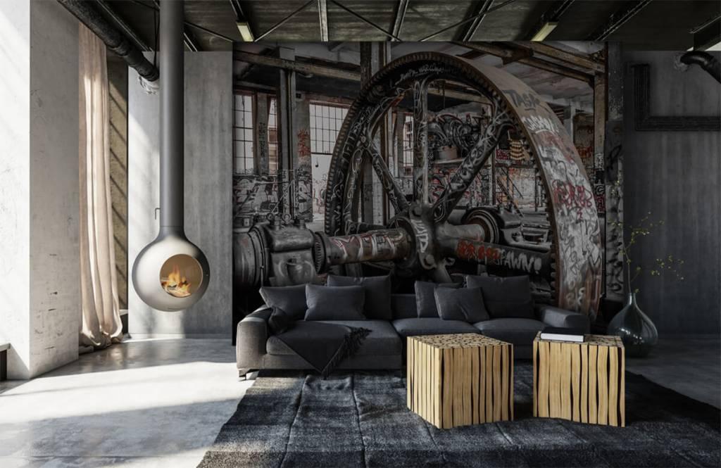 Architektur - Verlassene Fabrik - Jugendzimmer 7