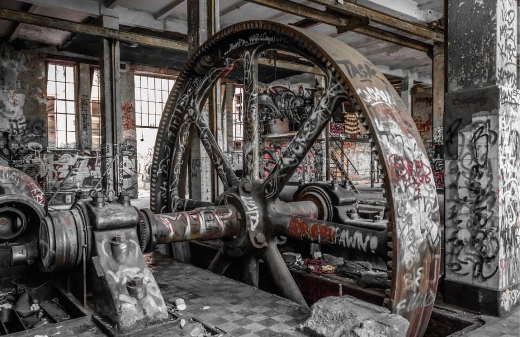 Architektur - Verlassene Fabrik - Jugendzimmer 9