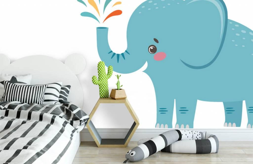 Elefanten - Fröhlicher Elefant - Babyzimmer 2