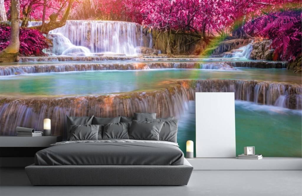 Wasserfälle - Wasserfall im Dschungel - Jugendzimmer 2