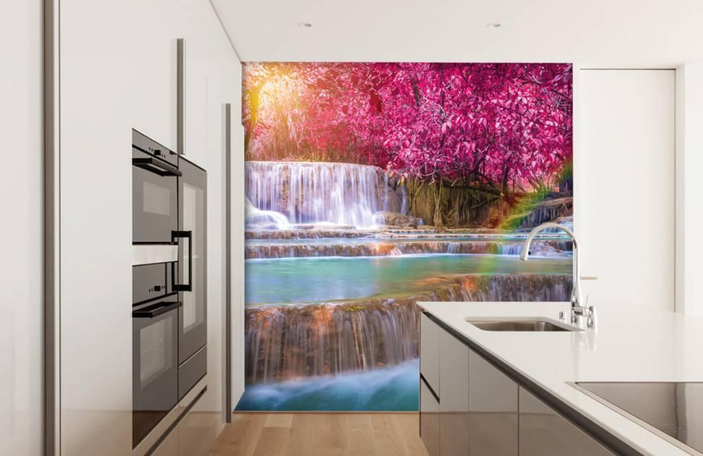 Wasserfälle - Wasserfall im Dschungel - Jugendzimmer 3