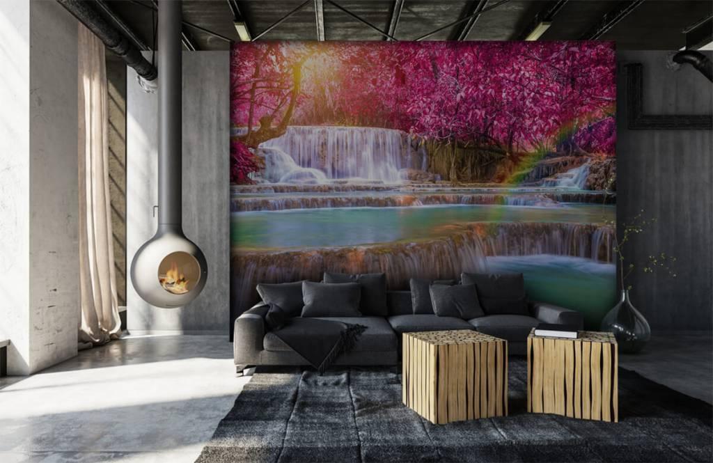 Wasserfälle - Wasserfall im Dschungel - Jugendzimmer 6
