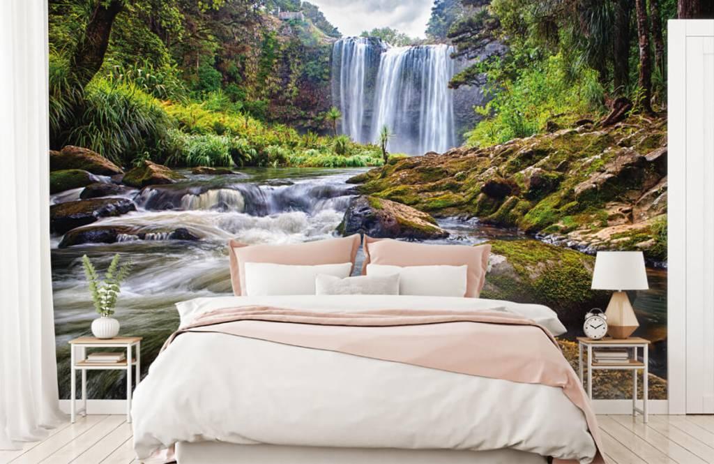 Wasserfälle - Wasserfall mit Steinen - Verwaltung 2