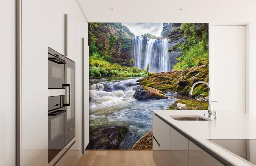 Wasserfälle - Wasserfall mit Steinen - Verwaltung 3
