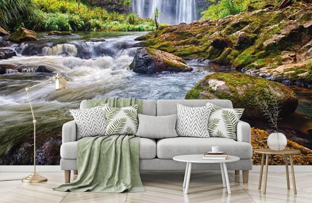 Wasserfälle - Wasserfall mit Steinen - Verwaltung 4