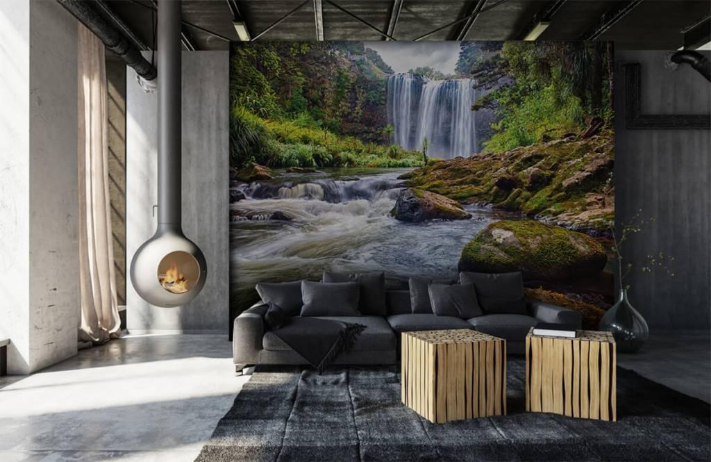 Wasserfälle - Wasserfall mit Steinen - Verwaltung 5
