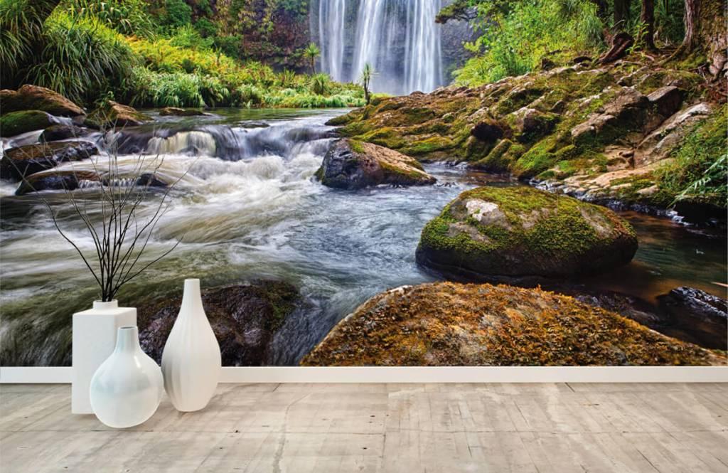 Wasserfälle - Wasserfall mit Steinen - Verwaltung 7