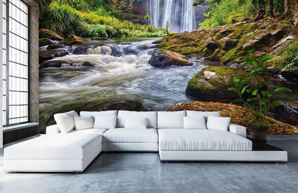 Wasserfälle - Wasserfall mit Steinen - Verwaltung 8