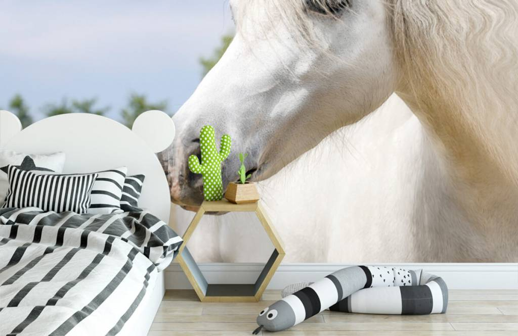 Pferde - Weißes Einhorn - Kinderzimmer 3