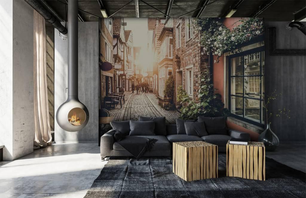Städte - Tapete - Klassische Straße - Schlafzimmer 3
