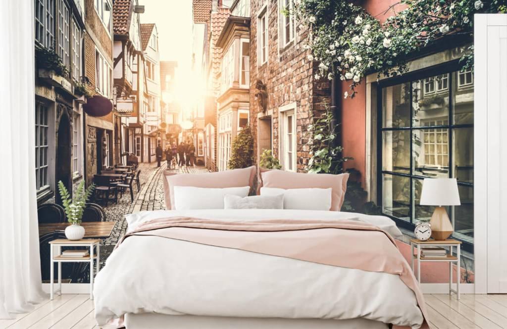 Städte - Tapete - Klassische Straße - Schlafzimmer 7