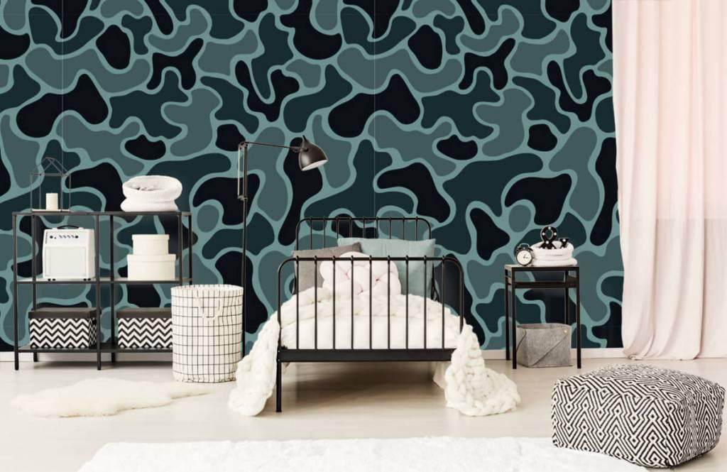 Andere - Tarnfarben in grün/grau - Kinderzimmer 1