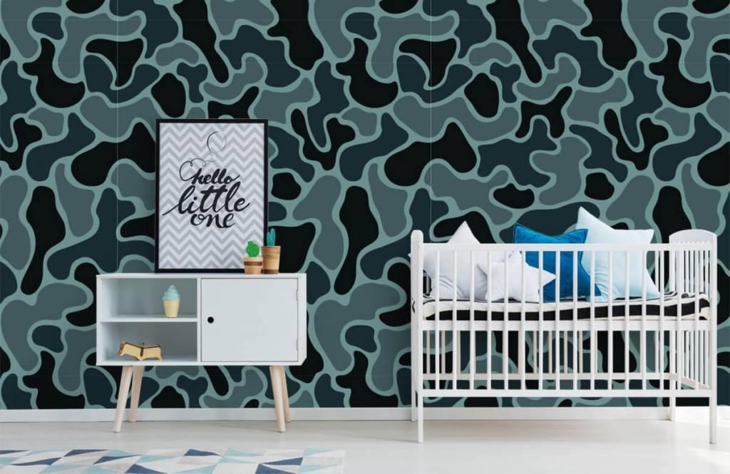 Andere - Tarnfarben in grün/grau - Kinderzimmer 2