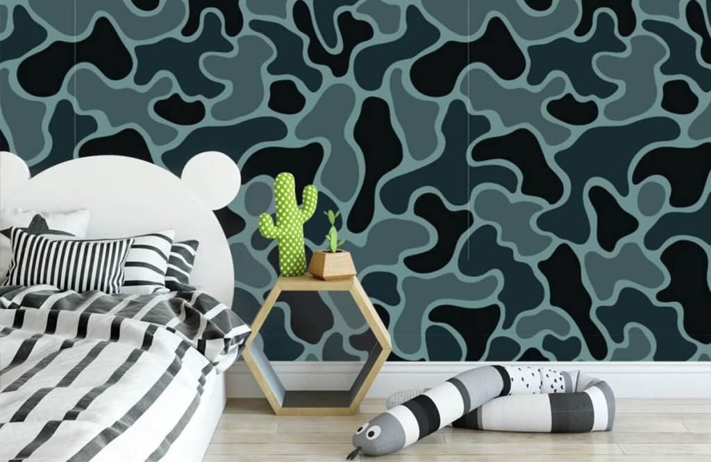 Andere - Tarnfarben in grün/grau - Kinderzimmer 3