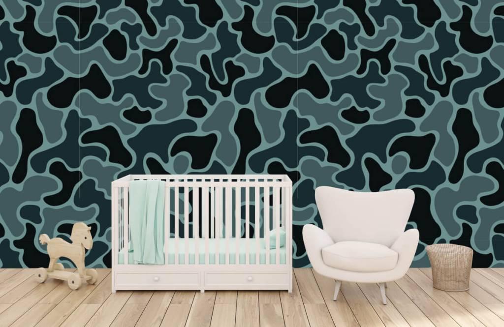 Andere - Tarnfarben in grün/grau - Kinderzimmer 4