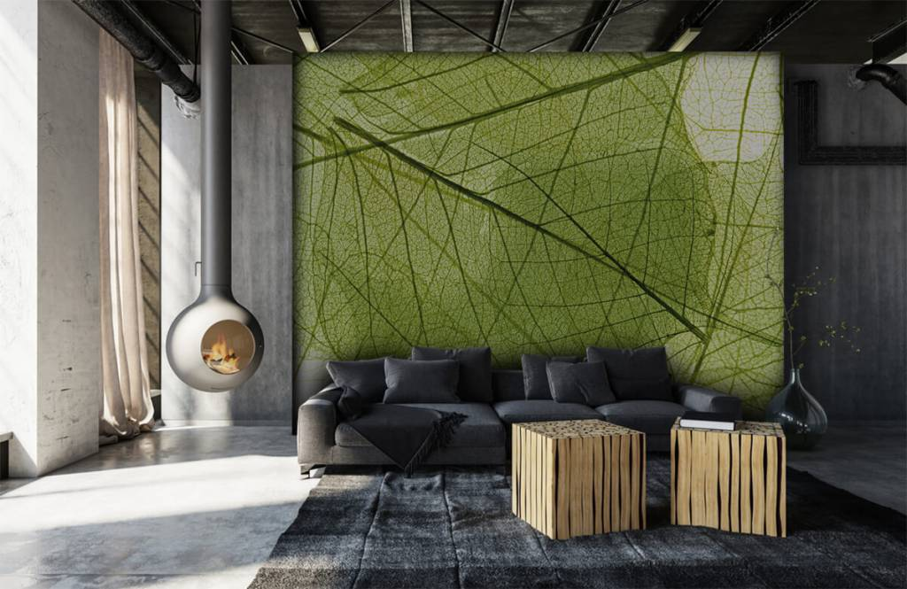 Blätter - Grüne Blätter - Schlafzimmer 7