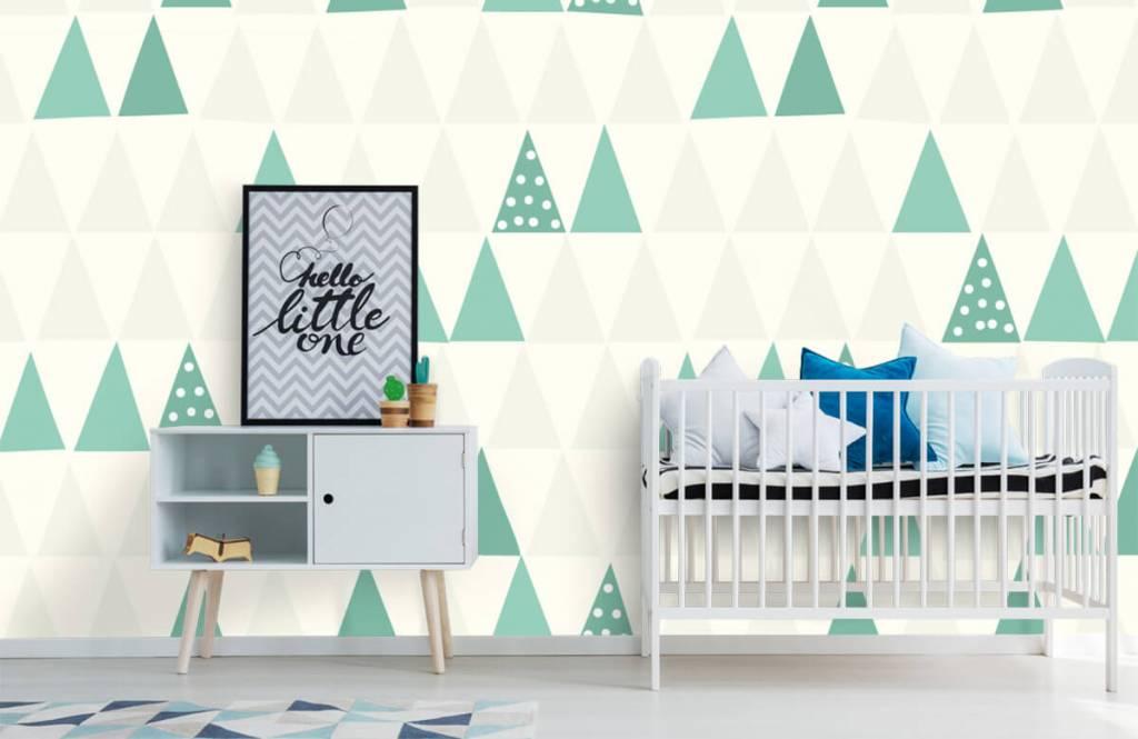 Andere - Grüne Dreiecken - Kinderzimmer 1