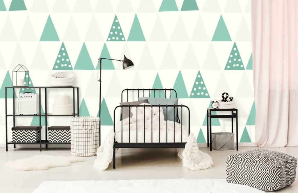 Andere - Grüne Dreiecken - Kinderzimmer 2