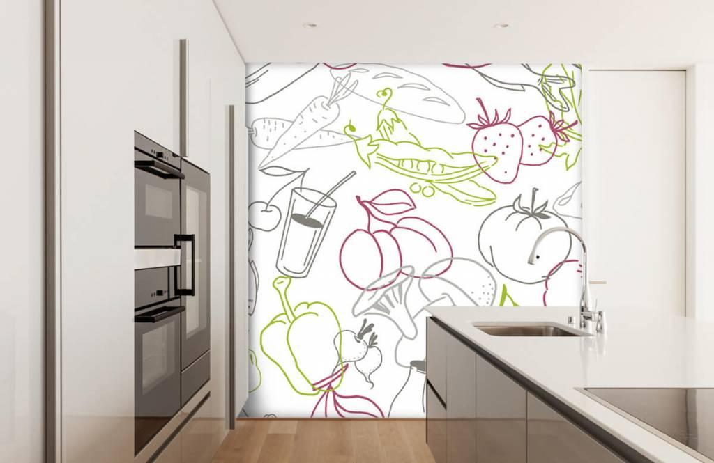 Andere - Gemüse-Symbole - Küchen 1