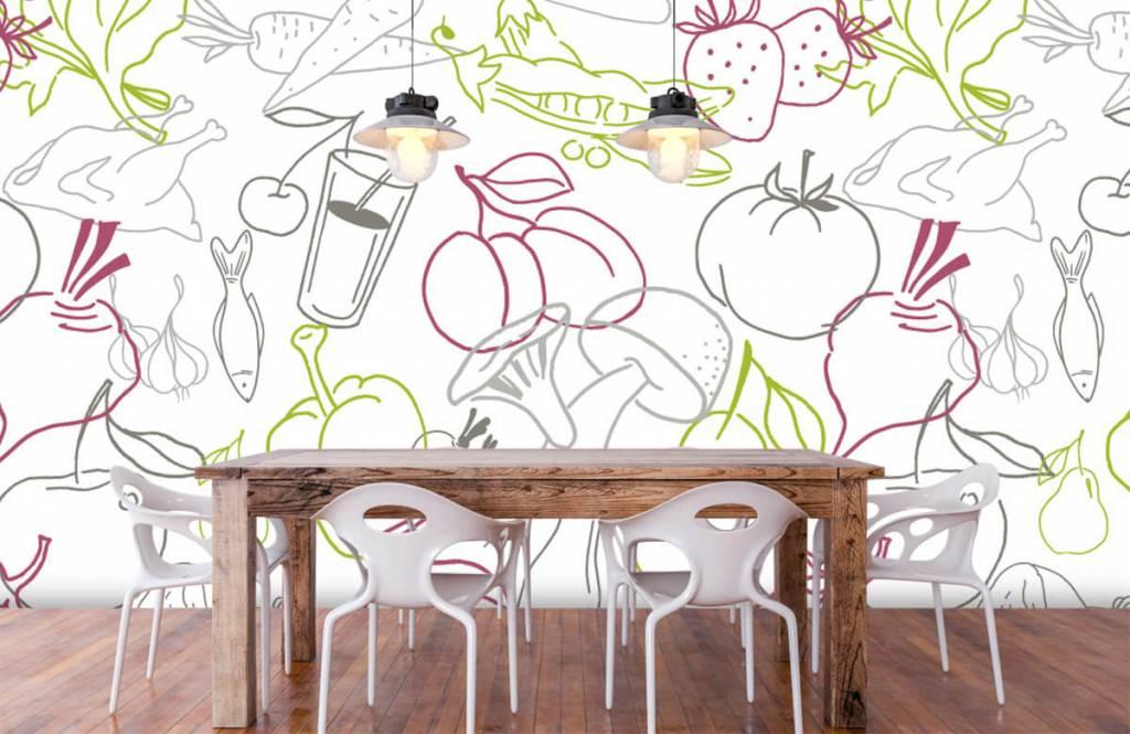 Andere - Gemüse-Symbole - Küchen 6