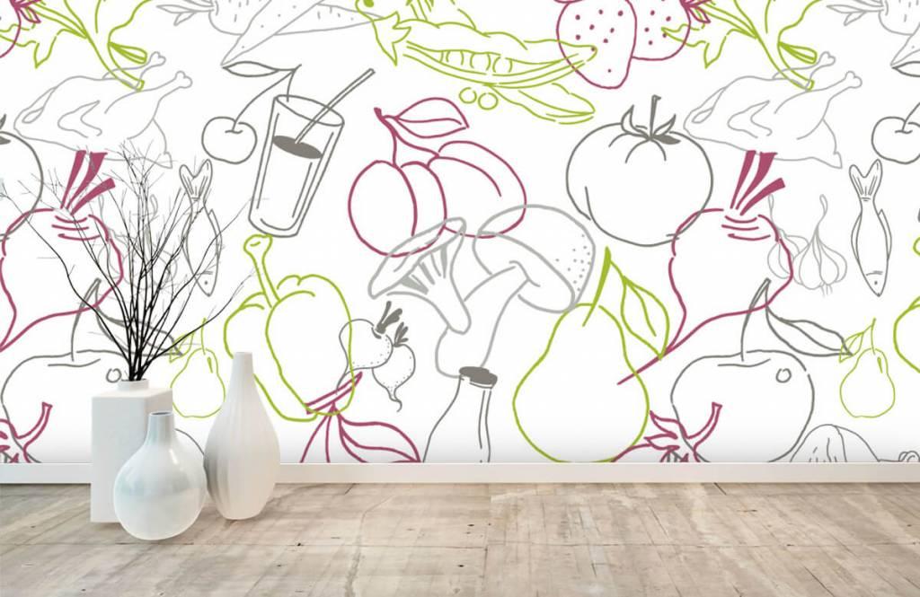 Andere - Gemüse-Symbole - Küchen 7