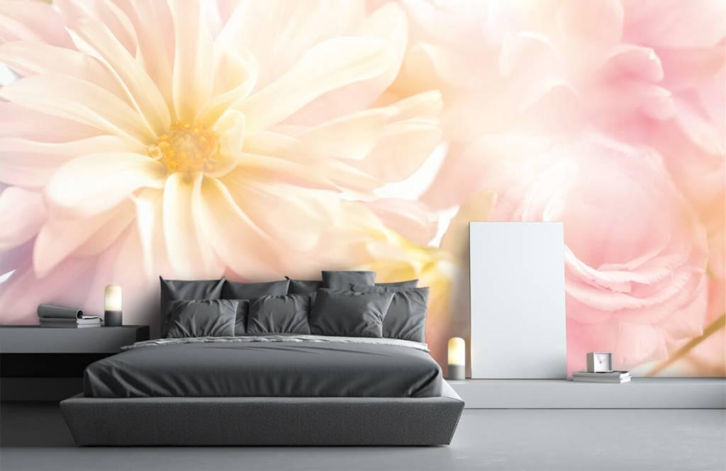 Blumenfelder - Helle Blumen - Schlafzimmer 2