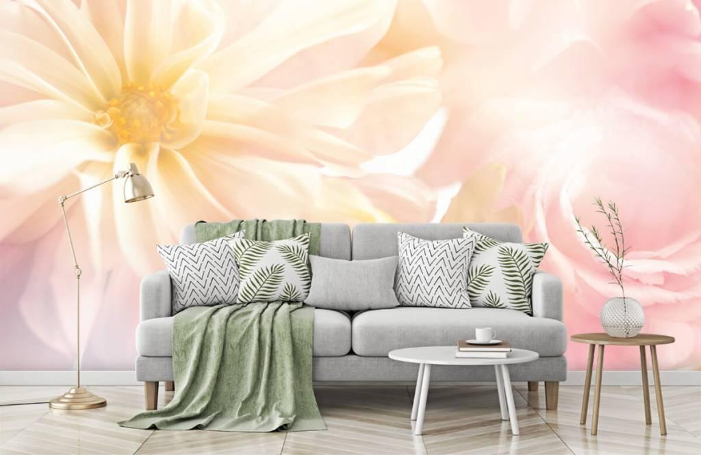 Blumenfelder - Helle Blumen - Schlafzimmer 7