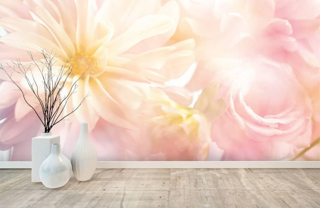 Blumenfelder - Helle Blumen - Schlafzimmer 8