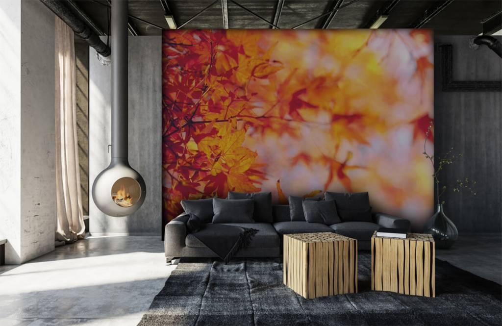 Blätter - Herbstlaub - Schlafzimmer 6