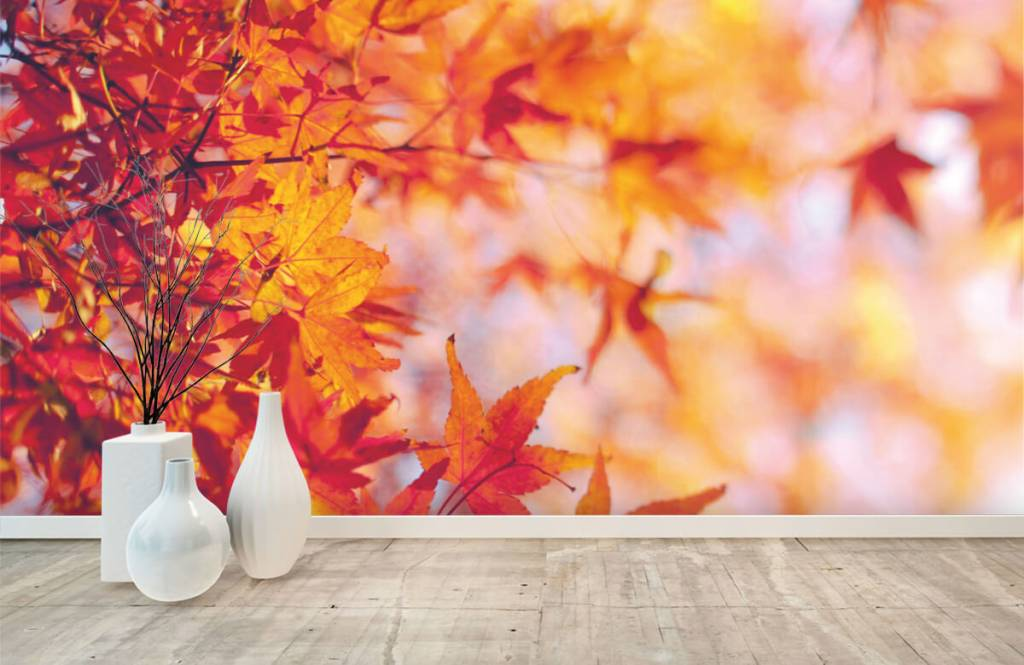 Blätter - Herbstlaub - Schlafzimmer 8