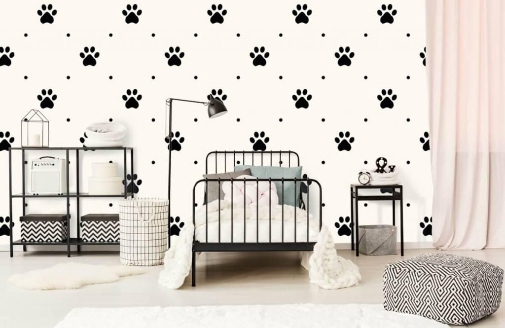 Andere - Hundepfoten - Kinderzimmer 2