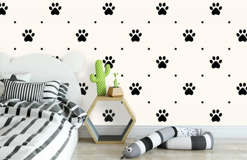 Andere - Hundepfoten - Kinderzimmer 3