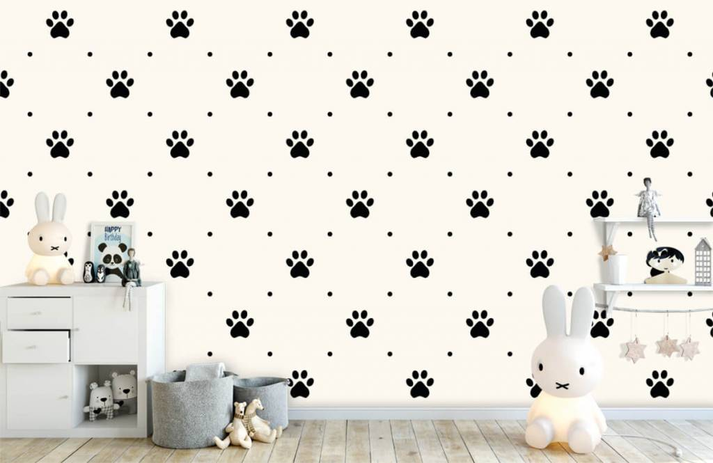 Andere - Hundepfoten - Kinderzimmer 4