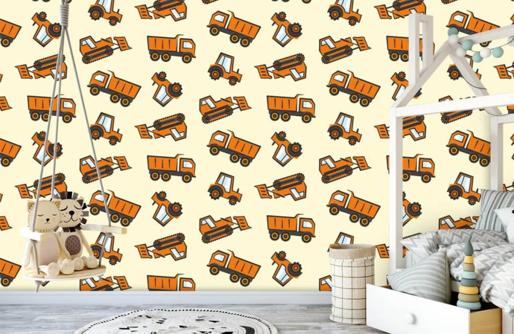 Andere - Industrietransport, orange - Kinderzimmer 3