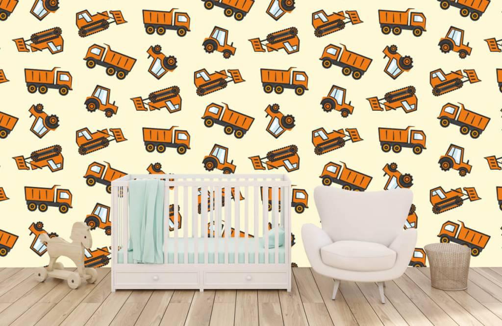 Andere - Industrietransport, orange - Kinderzimmer 5