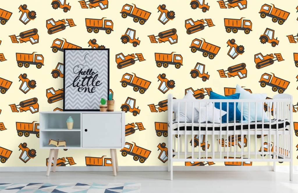 Andere - Industrietransport, orange - Kinderzimmer 6