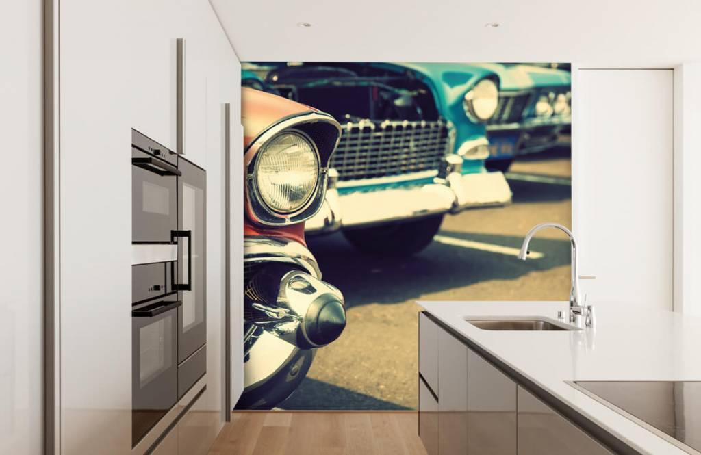 Verkehrsmittel Tapete - Klassische Autos - Jugendzimmer 3