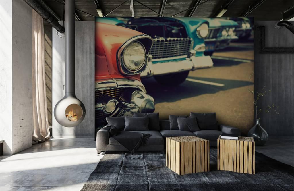 Verkehrsmittel Tapete - Klassische Autos - Jugendzimmer 6