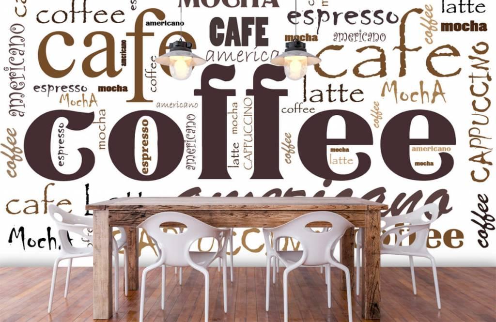 Andere - Kaffee-Buchstaben - Küchen 1