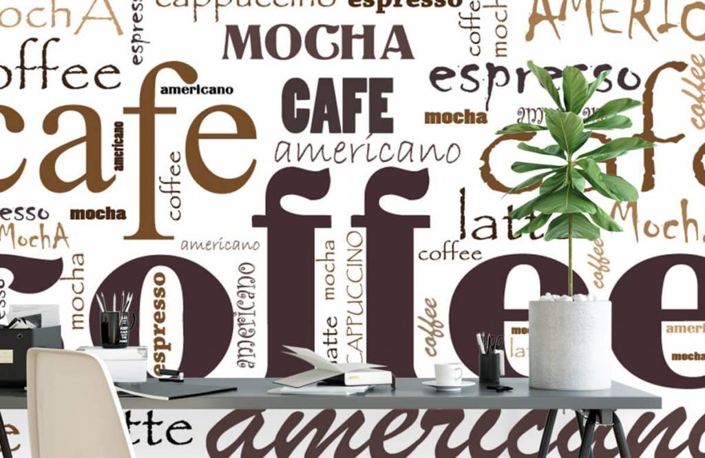 Andere - Kaffee-Buchstaben - Küchen 2