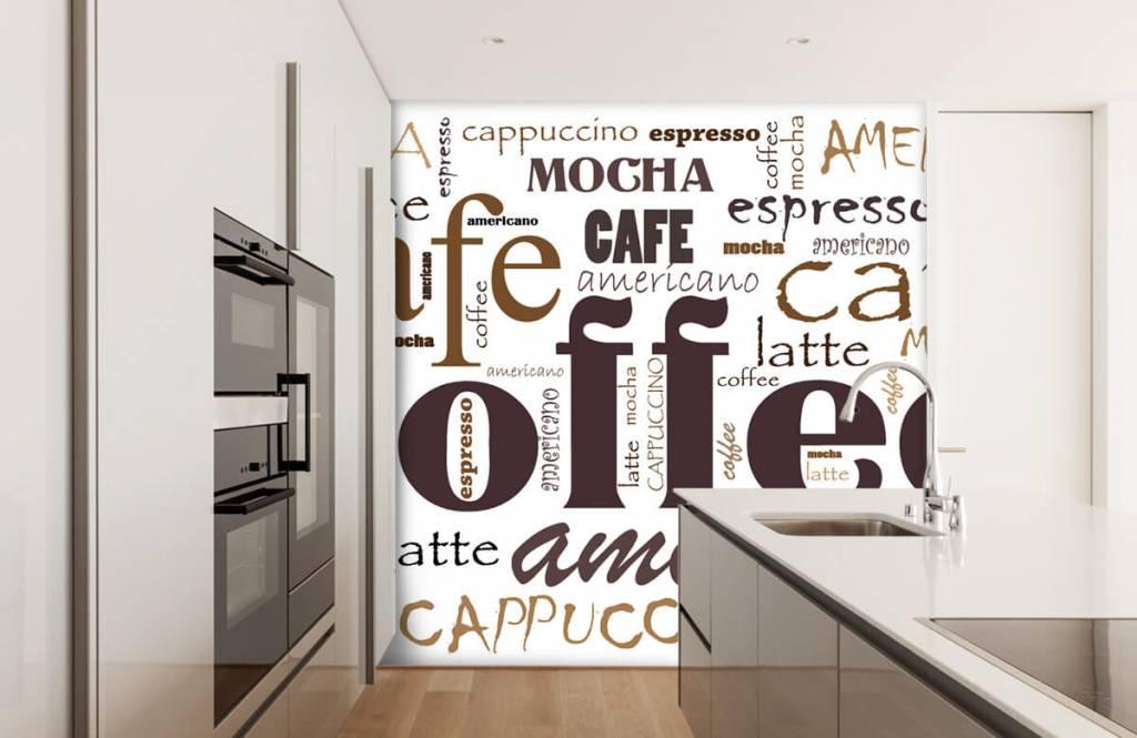Andere - Kaffee-Buchstaben - Küchen 5