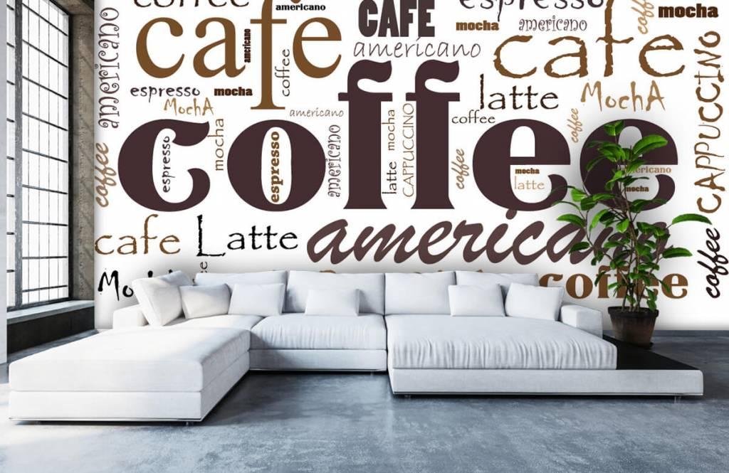 Andere - Kaffee-Buchstaben - Küchen 6