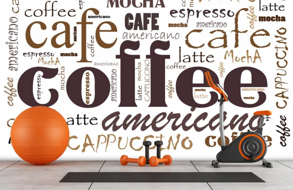 Andere - Kaffee-Buchstaben - Küchen 8