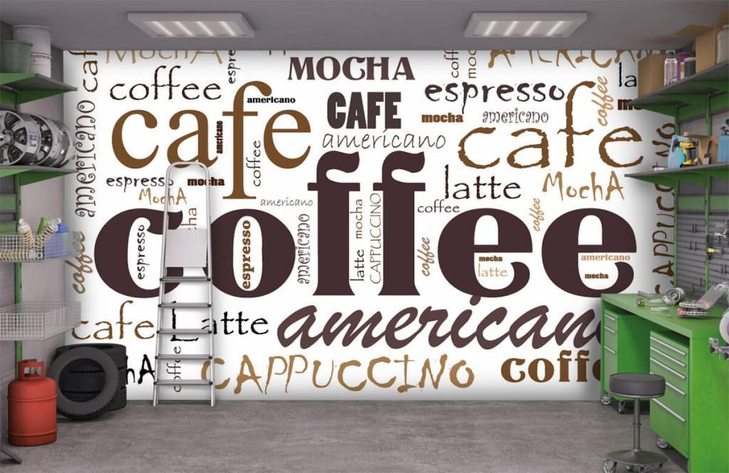 Andere - Kaffee-Buchstaben - Küchen 9