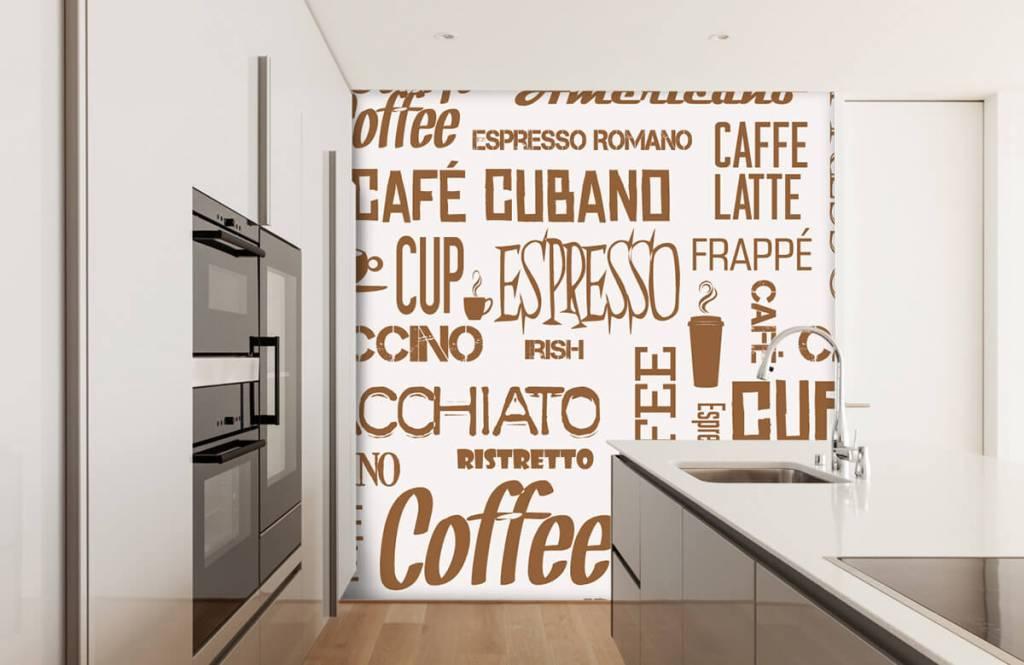 Andere - Kaffee Wörter - Küchen 1