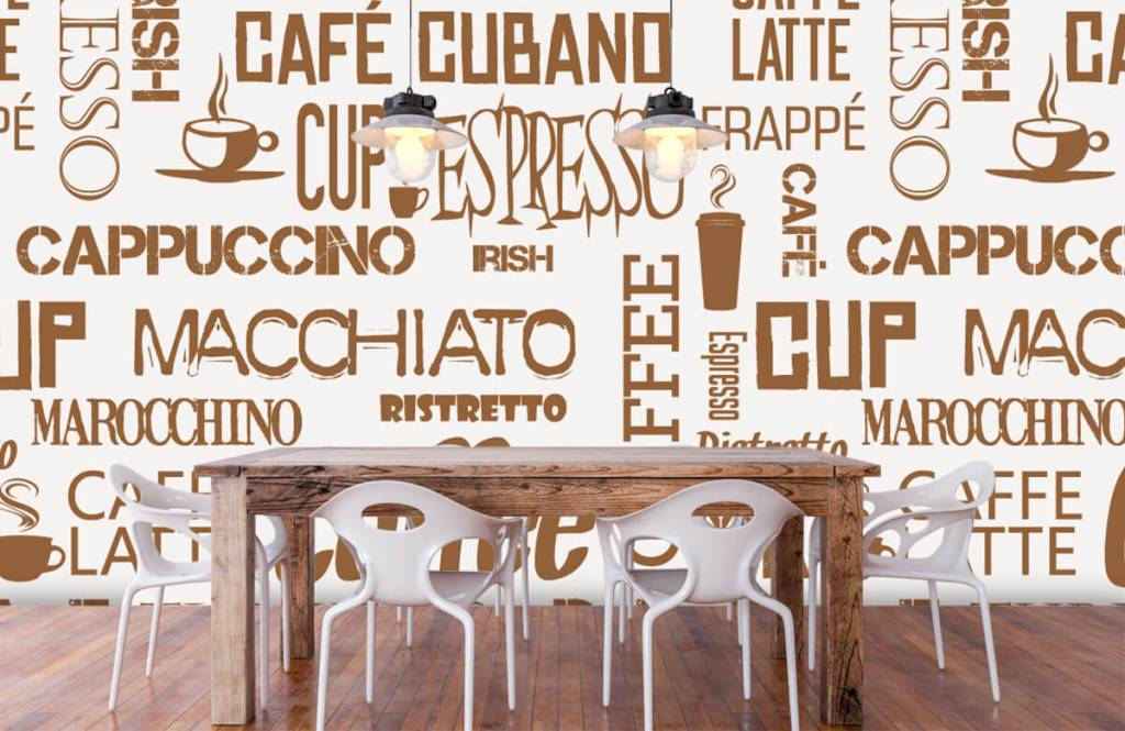 Andere - Kaffee Wörter - Küchen 2