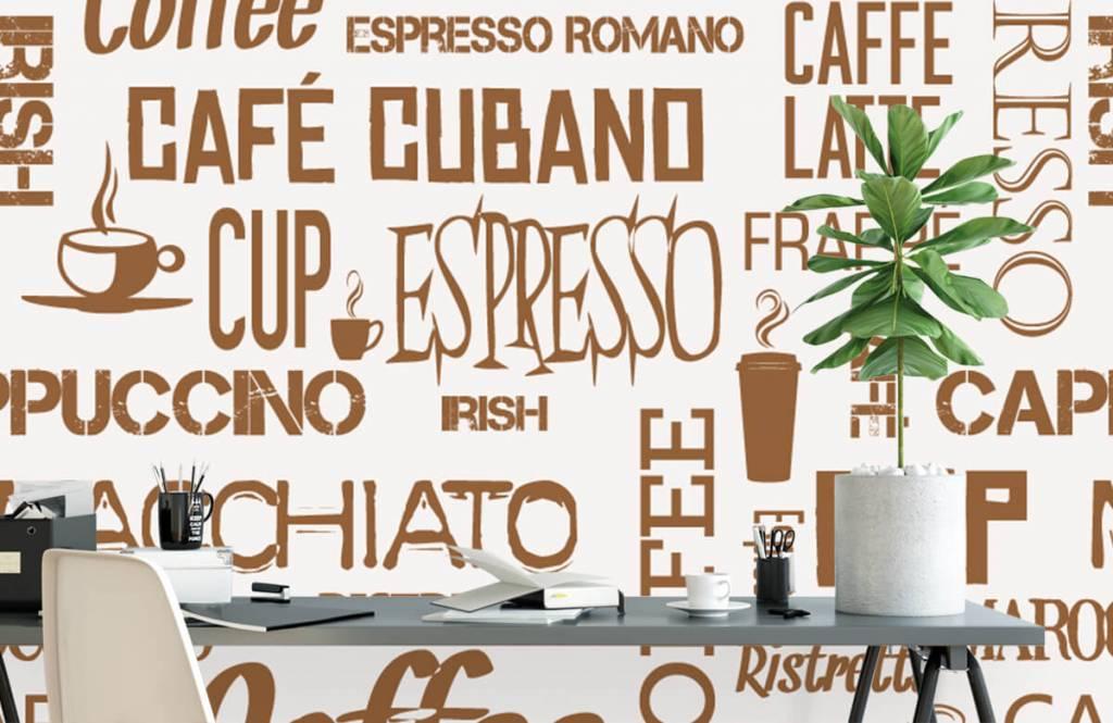 Andere - Kaffee Wörter - Küchen 3
