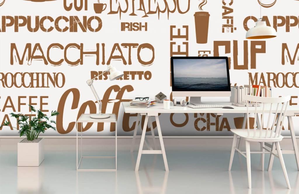 Andere - Kaffee Wörter - Küchen 4