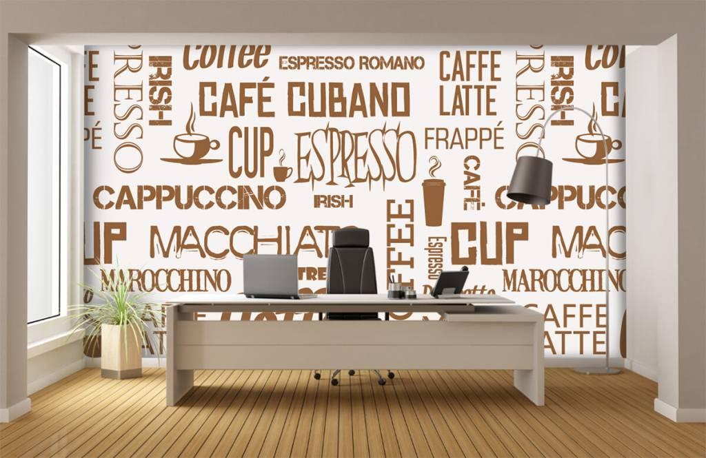 Andere - Kaffee Wörter - Küchen 5