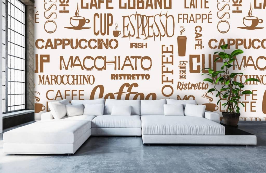 Andere - Kaffee Wörter - Küchen 6